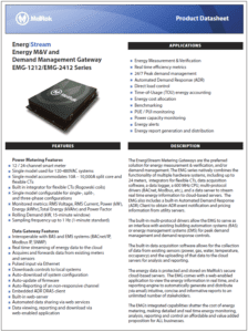 EnergiStream Datasheet Thumbnail