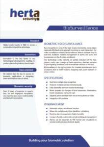 Herta BioSurveillance Brochure