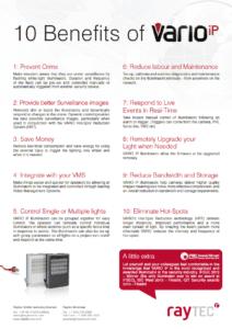 10 Benefits of Vario IP