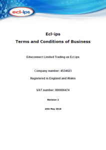 Ecl-ips Terms and Conditions