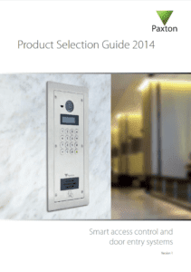 Paxton Product Selection Guide 2014
