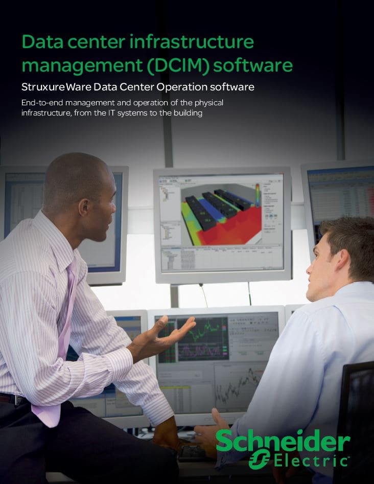 Datacentre Infrastructure Management (DCIM) Software from APC Schneider Electric