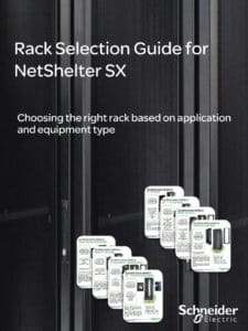 Rack Selection Guide for NetShelter SX