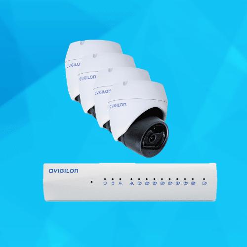 Avigilon IP CCTV Camera Solution Package 1
