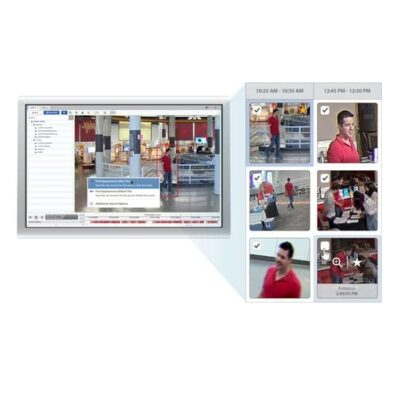 Find a person of interest faster with Appearance Search™ Technology