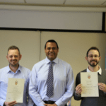 Two more members of Ecl-ips gain Managing Safely Qualification