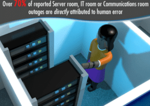Human error server room outages