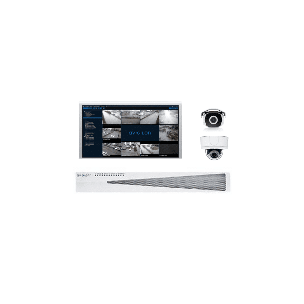 Avigilon CCTV system
