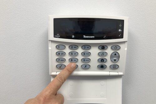 Intruder Alarm Panel 1