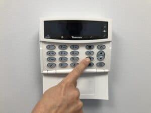 Intruder Alarm Panel 2