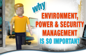 Inforgraphic: Why is Environment, Power and Security Management are so important